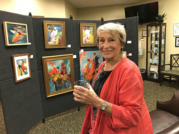 Getting ready for the 2018 Art Show and Sale