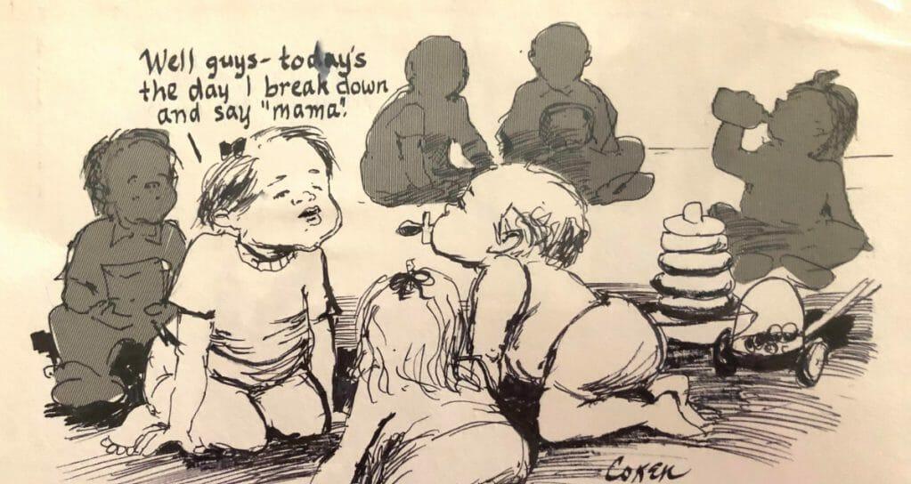 Cartoon for Mamas