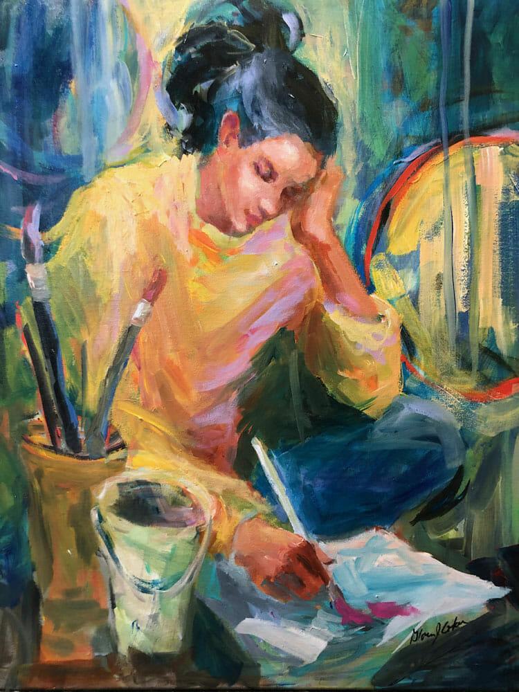 Thinking with my Paintbrush