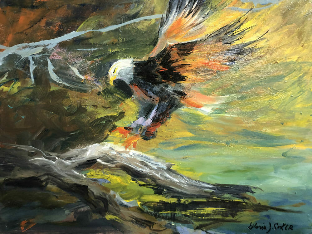 The Eagle is Landing