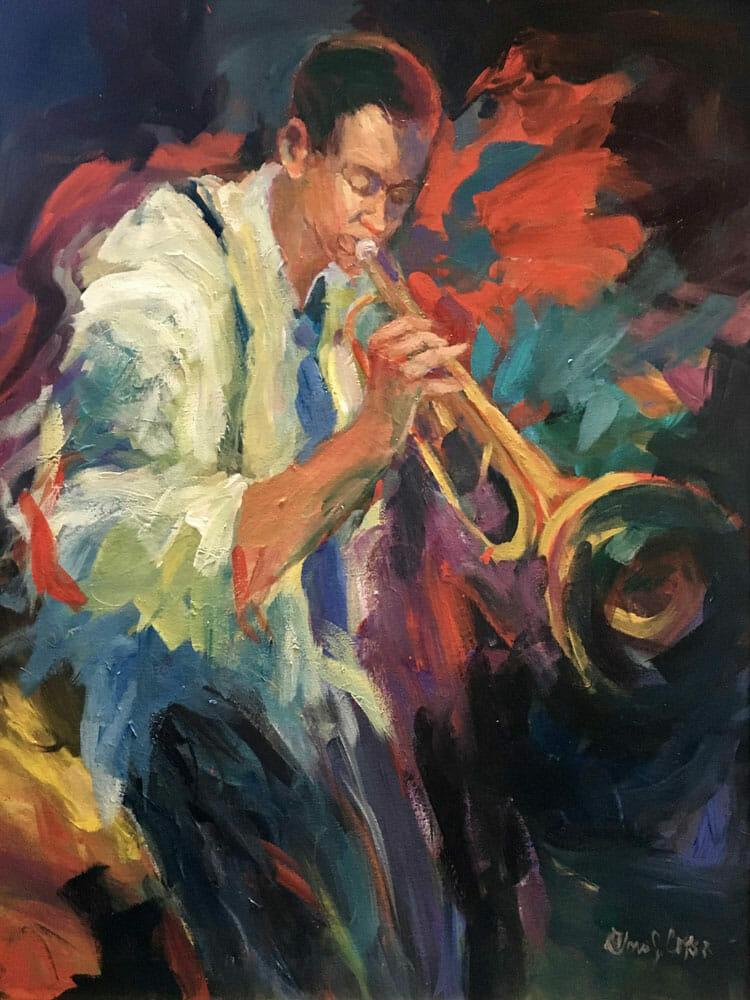 man horn